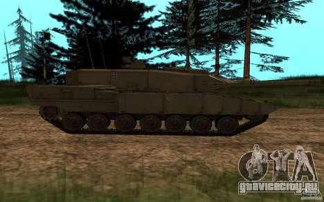 Leopard 2a7 для GTA San Andreas вид слева