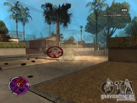 TBOGT HUD для GTA San Andreas второй скриншот