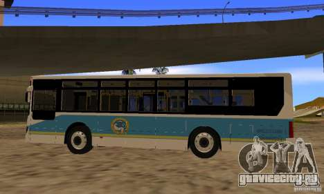 Daewoo Bus BC211MA Almaty для GTA San Andreas вид слева