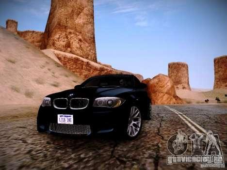 BMW 1M v2 для GTA San Andreas вид сзади слева