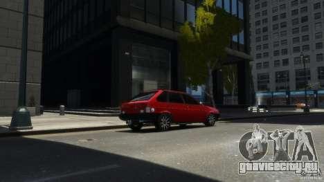 ВАЗ 2109 light tuning для GTA 4 вид слева