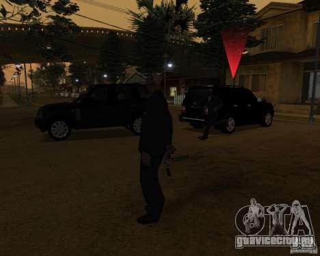 Охрана на джипе для GTA San Andreas второй скриншот