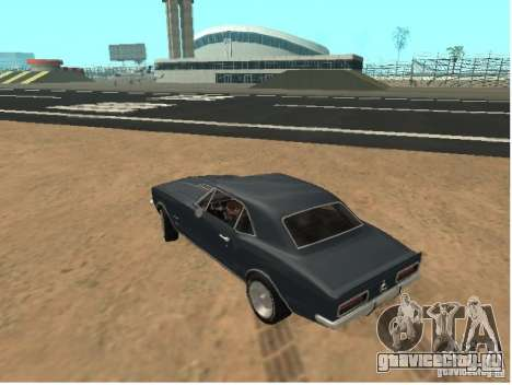 Chevrolet Camaro SS 396 Turbo-Jet для GTA San Andreas вид слева