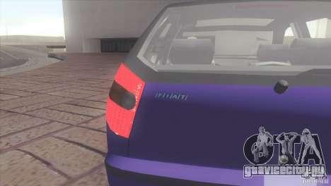 Fiat Palio 16v для GTA San Andreas вид сзади слева
