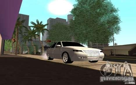 ЛАДА ПРИОРА хэтчбэк tuning для GTA San Andreas вид сзади