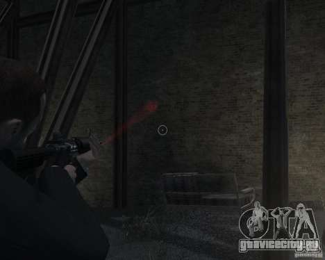 Flashlight for Weapons v 2.0 для GTA 4 седьмой скриншот