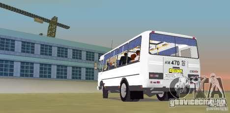 ПАЗ 32050R для GTA Vice City вид сзади слева