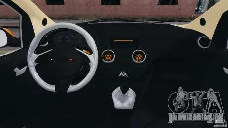Ford Ka 2011 для GTA 4 вид сзади