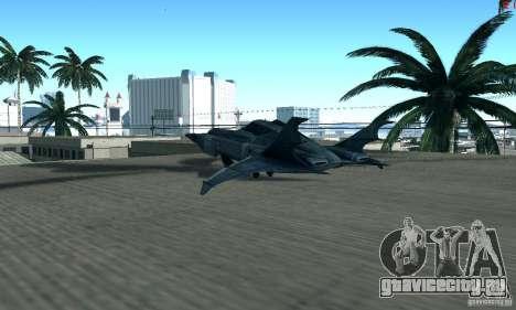BatWing для GTA San Andreas вид справа
