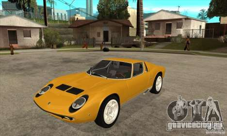 Lamborghini Miura 1966 для GTA San Andreas