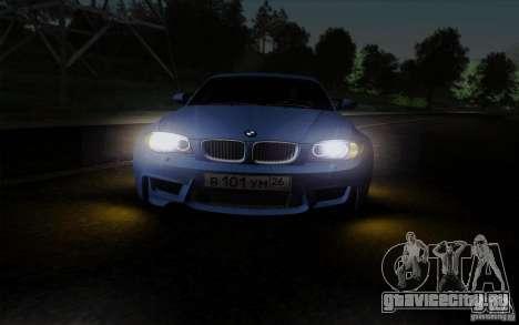 BMW 1M 2011 V3 для GTA San Andreas вид сбоку