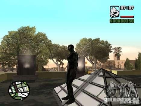 Человек паук враг в отражении для GTA San Andreas четвёртый скриншот