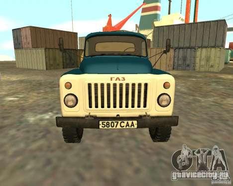 ГАЗ 53-12 АЦПТ-3 для GTA San Andreas вид справа