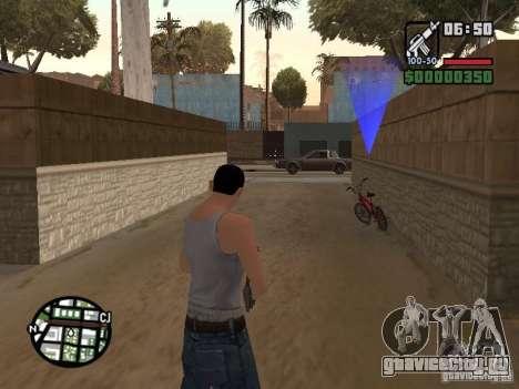 Скин для CJ - Крутой мужик для GTA San Andreas пятый скриншот