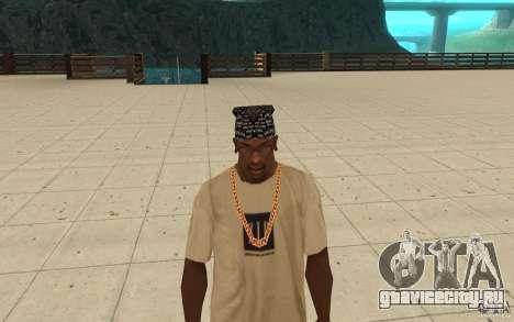 Бандана D12 для GTA San Andreas третий скриншот