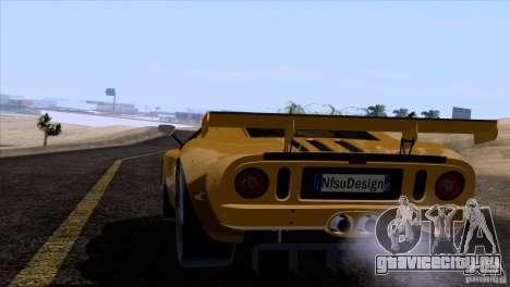 Ford GT Matech GT3 Series для GTA San Andreas колёса