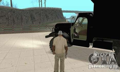 ЗиЛ 157 для GTA San Andreas вид сзади