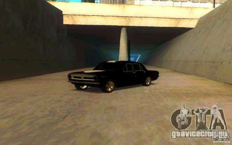 ГАЗ 2410 ПЛИМУТ для GTA San Andreas вид сзади слева
