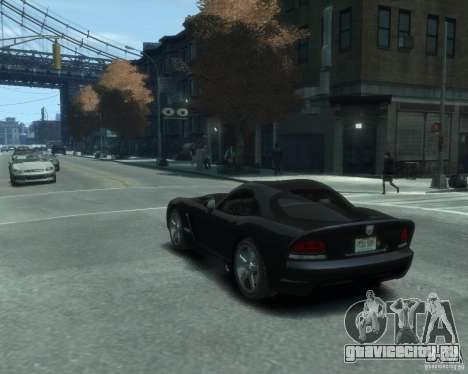 Dodge Viper srt-10 Coupe для GTA 4 вид слева