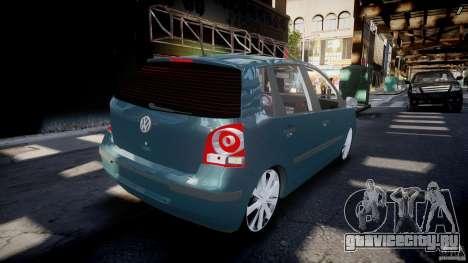 Volkswagen Polo 1998 для GTA 4 вид сверху