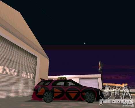 Stratum Tuned Taxi для GTA San Andreas вид справа