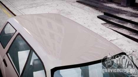 Subaru Forester v2.0 для GTA 4 вид снизу