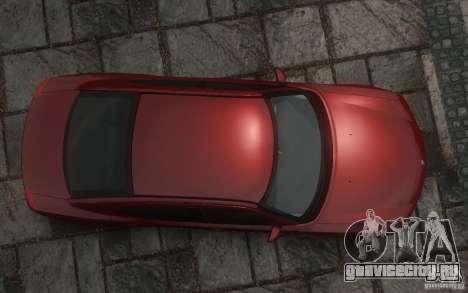 Dodge Charger RT Hemi 2008 для GTA 4 вид снизу