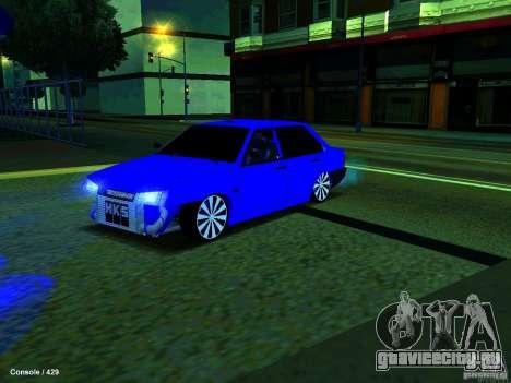 ВАЗ 21099 Турбо для GTA San Andreas