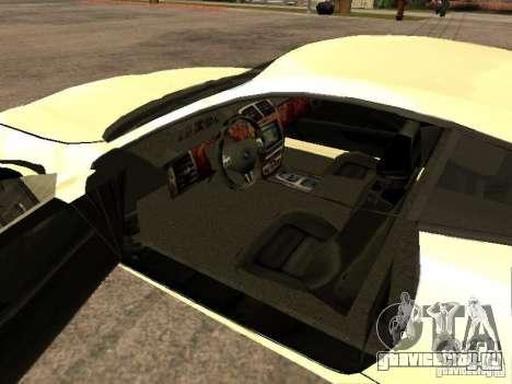 Jaguar XK для GTA San Andreas вид сзади слева