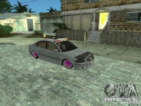 VW Passat B5 Dope для GTA San Andreas