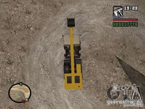 КамАЗ UDS для GTA San Andreas вид сзади