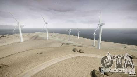 Wind Farm Island - California IV для GTA 4 четвёртый скриншот