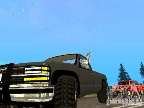 Chevrolet Silverado 2012 для GTA San Andreas вид слева