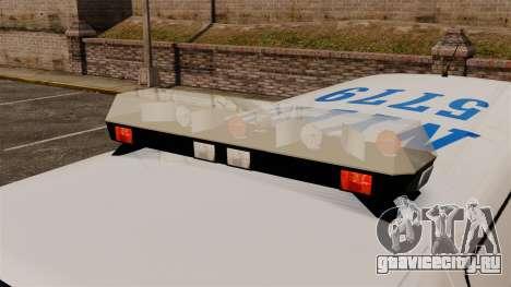 Полицейский Speedo для GTA 4 вид сзади