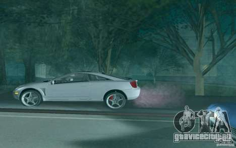 Toyota Celica для GTA San Andreas двигатель