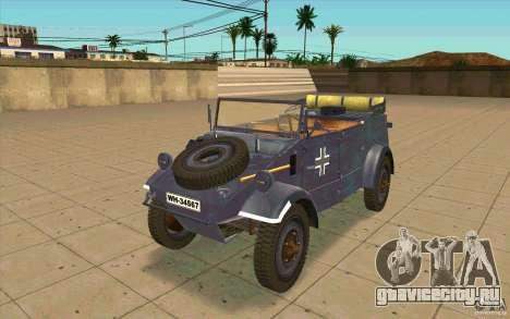 Kuebelwagen v2.0 normal для GTA San Andreas