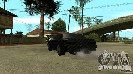 Elegy Carbon Style V 1.00 для GTA San Andreas вид сзади