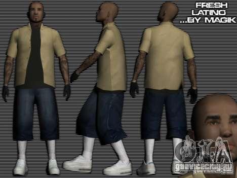 Новый латинос для GTA:SA для GTA San Andreas