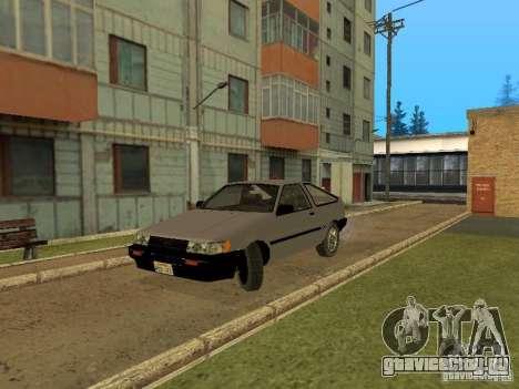 Toyota Corolla AE85 Levin GT-Apex для GTA San Andreas