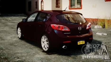 Mazda Speed 3 [Beta] для GTA 4 вид сзади слева