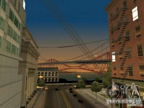 New Sky Vice City для GTA San Andreas седьмой скриншот