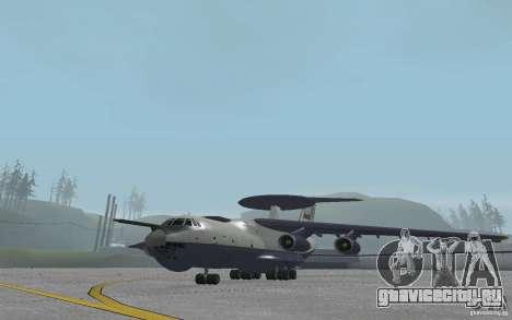 Berijew A-50 Mainstay для GTA San Andreas вид слева