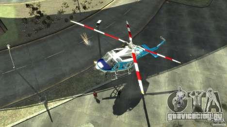 NYPD Bell 412 EP для GTA 4 вид слева