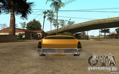 MGC Phantom для GTA San Andreas вид сзади слева