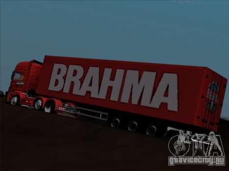 Прицеп для Scania R620 Brahma для GTA San Andreas вид снизу