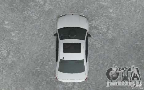 Saturn Ion Quad Coupe для GTA San Andreas вид изнутри