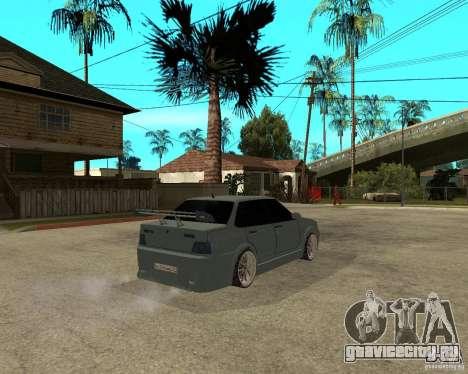 ВАЗ 2115 TTC Tuning для GTA San Andreas вид сзади слева
