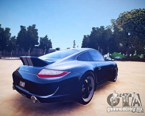 Porsche 911 Sport Classic 2011 v2.0 для GTA 4 вид справа