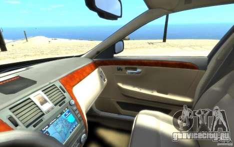 Cadillac DTS v 2.0 для GTA 4 вид сверху