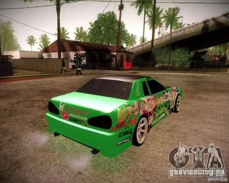 Elegy Toy Sport v2.0 Shikov Version для GTA San Andreas вид сзади слева